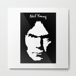 NEIL YOUNG IYENG 11 Metal Print