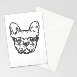 Great design for men and women who loves dogs Stationery Cards