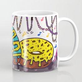 Mardi Gras Donuts Coffee Mug
