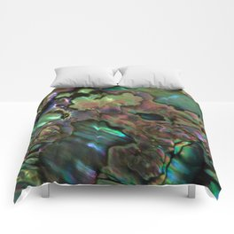 Oil Slick Abalone Mother Of Pearl Comforters