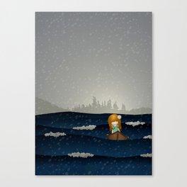 Cicily to The Sea Canvas Print
