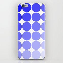 Indigo Circle Color Chart iPhone Skin