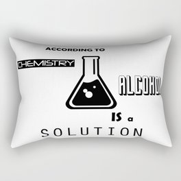 Can't Argue With Science Rectangular Pillow