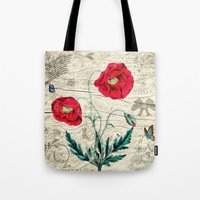 romantic Tote Bags featuring Romantic by Susann Mielke