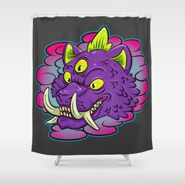 Snap.  Shower Curtain