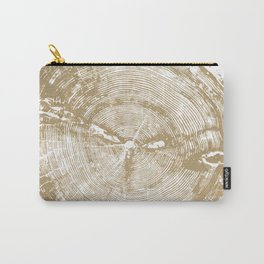 Sundance Pine, Tree ring print Carry-All Pouch