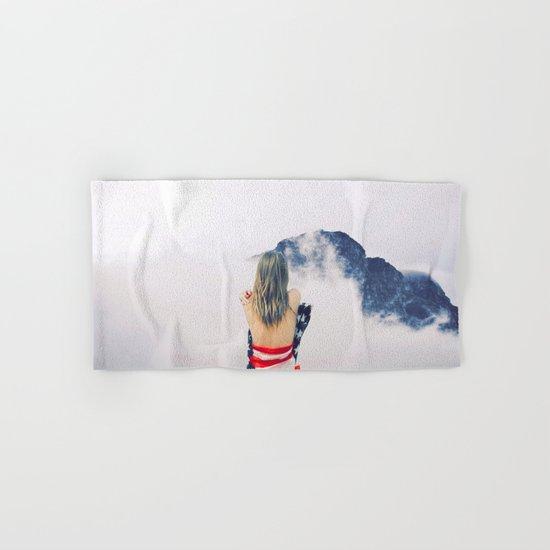 USA Girl Hand & Bath Towel