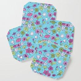 Flowers, Clovers & Diamonds Coaster