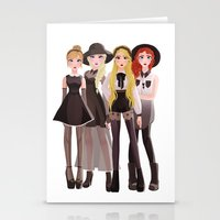 coven Stationery Cards featuring Coven by archibaldart