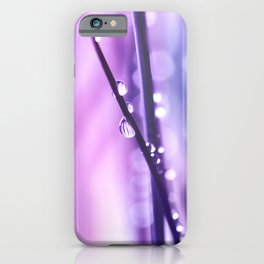 Drops Purple 18 iPhone Case
