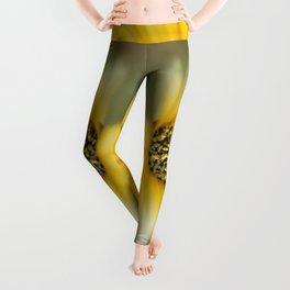 Yellow flower Leggings
