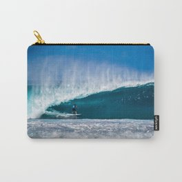 Surfing Pipe Carry-All Pouch