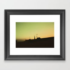 Derry Sky Framed Art Print