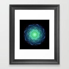 Spirals Framed Art Print