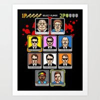 8 Bit Reservoir Art Print