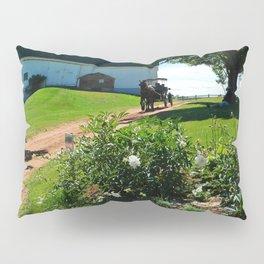 Horse Drawn Carriage on Farm in PEI Pillow Sham
