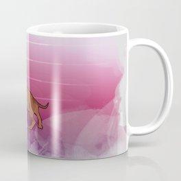 Pink Dachshund Coffee Mug