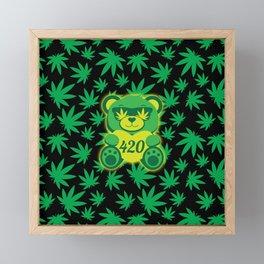 420 Teddy Bear Framed Mini Art Print