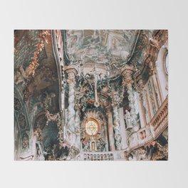 Asam Church Munich Throw Blanket
