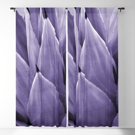 Ultra Violet Agave Vibes #4 #tropical #decor #art #society6 Blackout Curtain