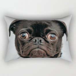 Pug Got Style Rectangular Pillow