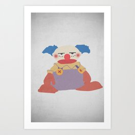Chuckles Art Print