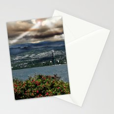 Bridge Near Vancouver Stationery Cards