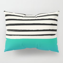 Mermaid & Stripes Pillow Sham