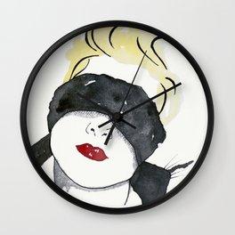 Kink Wall Clock