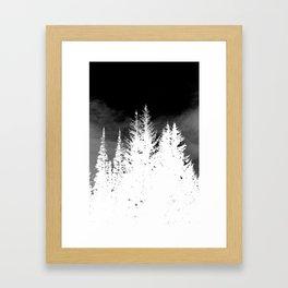 Ghost Trees Framed Art Print
