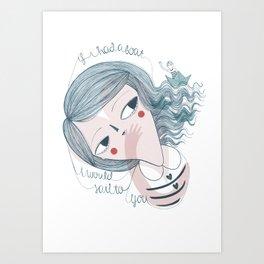 Sail to you Art Print