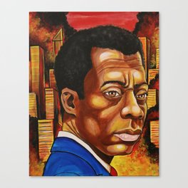 James Baldwin: The Fire Next Time Canvas Print