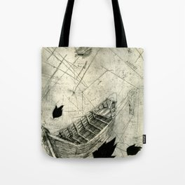 Charon's Ferry Tote Bag
