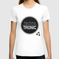 techno T-shirts featuring Techno Tronic by Thomas Official
