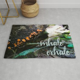 Inhale, Exhale Rug