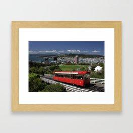 Wellington, NZ Framed Art Print