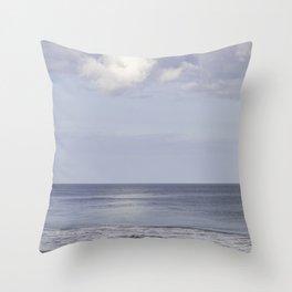 St Augustine beach Throw Pillow