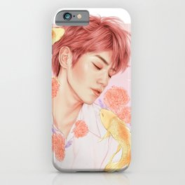 sweet dreams [taeyong nct] iPhone Case