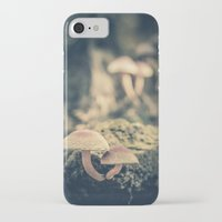 mushrooms iPhone & iPod Cases featuring mushrooms by Koka Koala