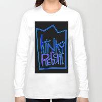 reggae Long Sleeve T-shirts featuring kinky reggae by amy darlene