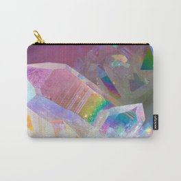 Opal Aura Quartz Crystal 1 Carry-All Pouch