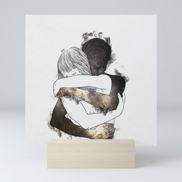 I would keep you forever (GOLD). Mini Art Print