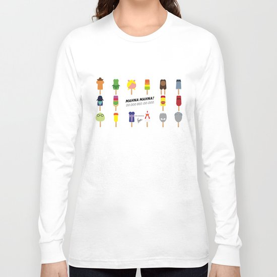 My MINIMAL ICE POPS univers III Long Sleeve T-shirt