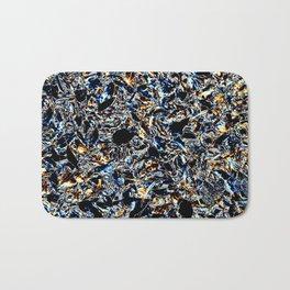 Gold & Blue Bath Mat