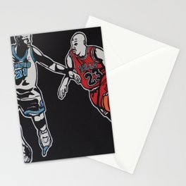 MJ vs. KG Stationery Cards