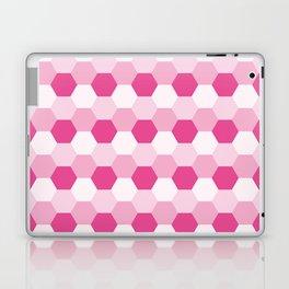 Pink Honeycomb Laptop & iPad Skin