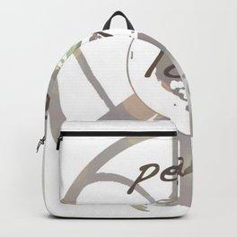 Peace Love Earth Backpack