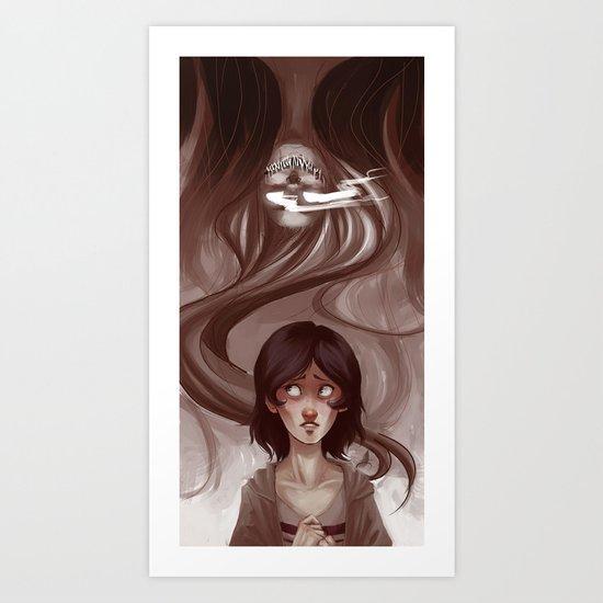 Uneternal Sleep Art Print