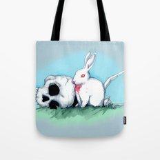 No Ordinary Rabbit Tote Bag