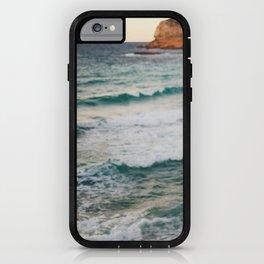 MEDITERRANEAN WAVES iPhone Case